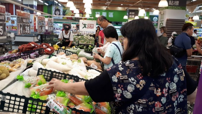 台灣物價連年處在平穩狀態。(圖:愛買提供)