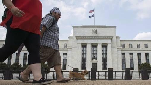 (圖二:美國中央銀行聯邦準備理事會,鉅亨網AFP)