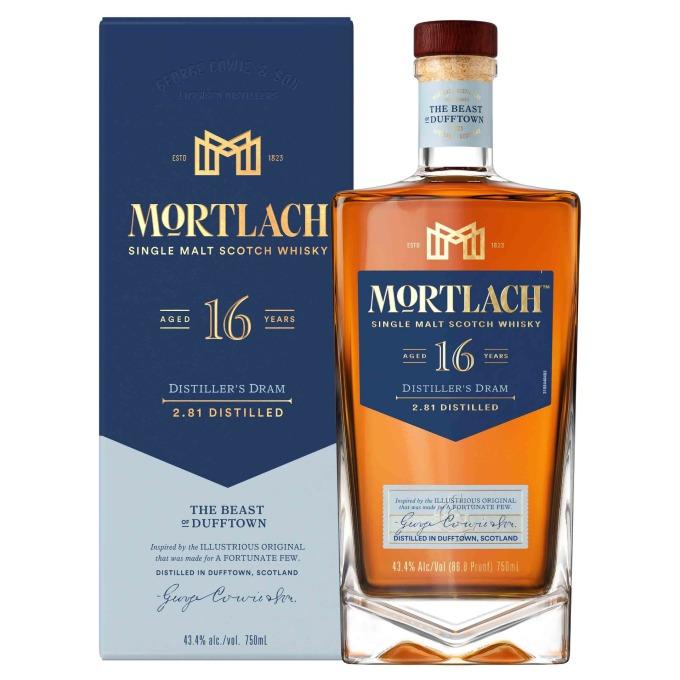 Mortlach慕赫2.81 - 16年單一麥芽威士忌附盒照,建議售價NT$2,500元