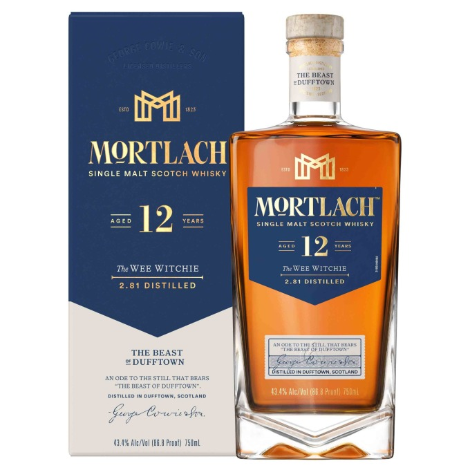 Mortlach慕赫2.81 - 12年單一麥芽威士忌附盒照,建議售價NT$1,480元