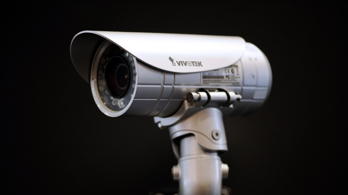 監視攝影機。(圖:AFP)