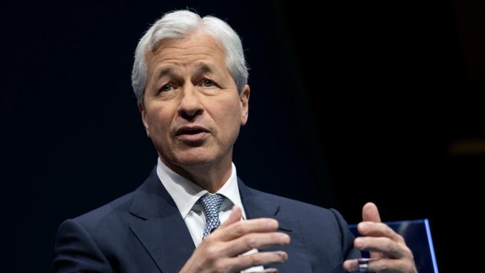摩根大通執行長 Jamie Dimon。(圖:AFP)