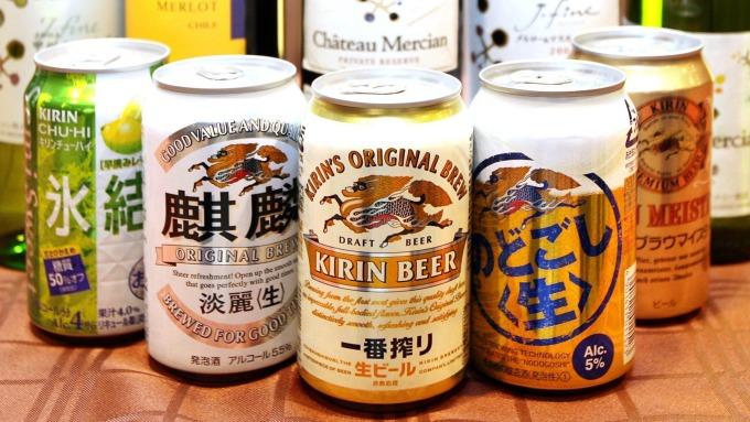 日本的啤酒類飲品 (圖:AFP)