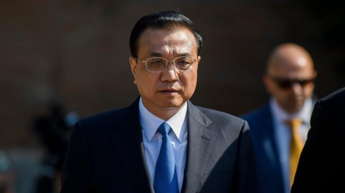 中國國務院總理李克強。(圖:AFP)