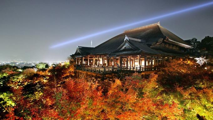 京都清水寺 (圖:AFP)