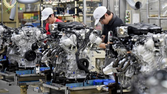 汽車引擎。(圖:AFP)