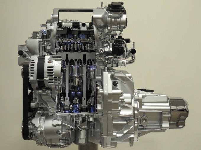 引擎內部構造 (圖:AFP)