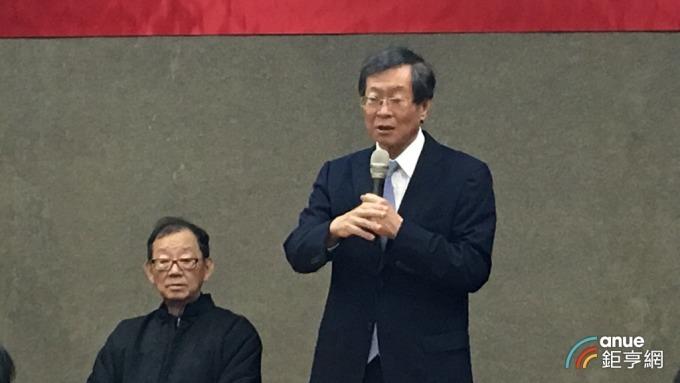 百麗航運董事長藍俊昇。(鉅亨網記者王莞甯攝)