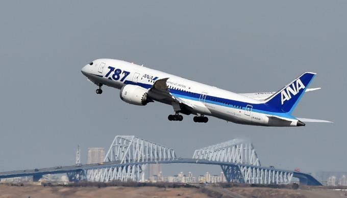 波音 787 (圖:AFP)