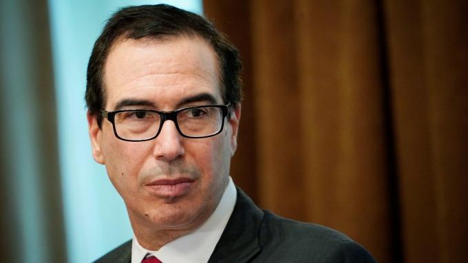 美國財政部長梅努欽 (圖:AFP)