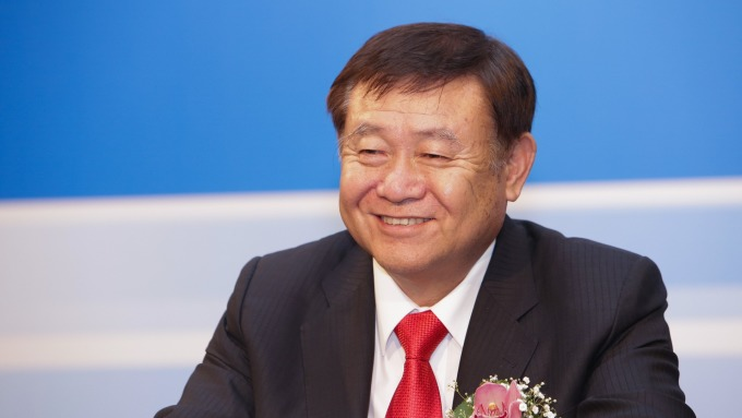 英利董事長林啟彬。(圖:英利提供)