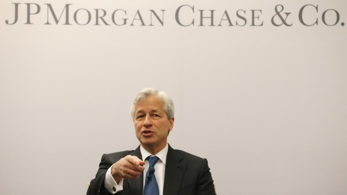摩根大通 CEO Jamie Dimon      (圖:AFP)