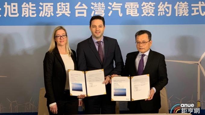 沃旭去年11月與台汽電簽陸上變電站統包合約,合約金額逾70億元。(圖:沃旭提供)