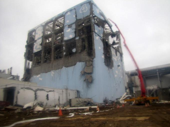 2011 年發生核災的日本福島第一核電廠 (圖:AFP)