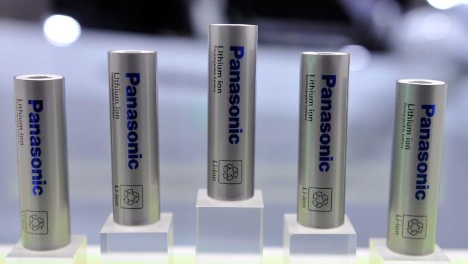 鋰電池 (圖:AFP)