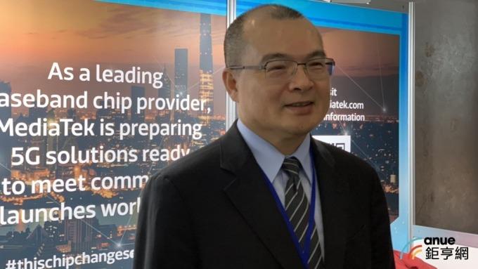 台灣資訊標準協會理事長、聯發科副董事長謝清江。(鉅亨網記者彭昱文攝)