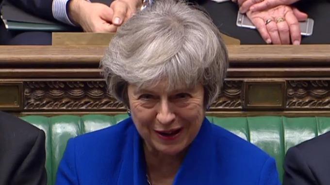 英國首相梅伊 (圖:AFP)