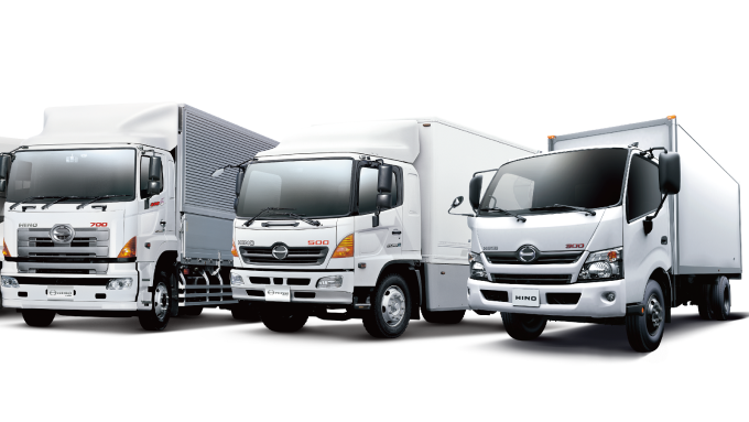 去年3.5噸以上HINO大型商用車合計登錄3437台,年增24%。(圖:和泰車提供)