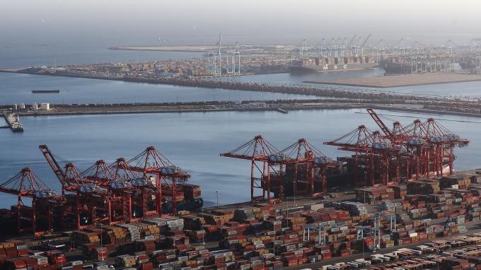 圖:AFP  貿易戰重創企業信心