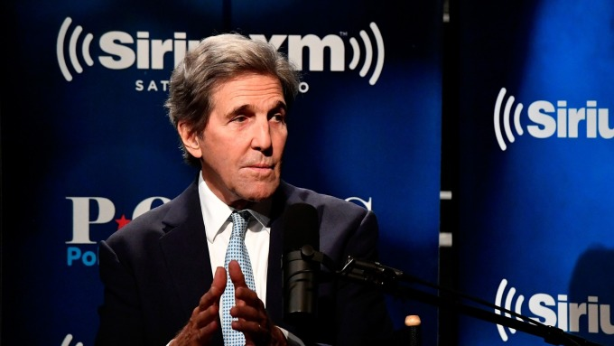 圖:AFP  美國前國務卿凱瑞
