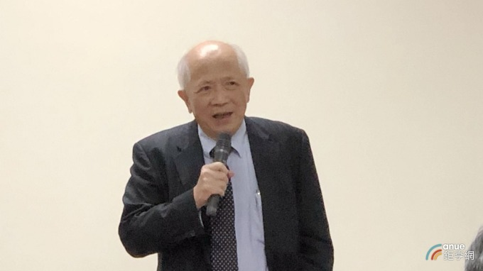 健鼎科技董事長王景春。(鉅亨網記者張欽發攝)