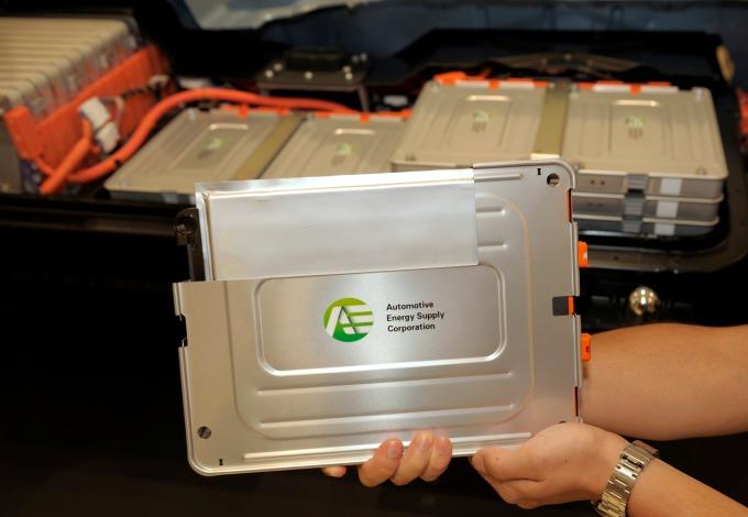 EV用鋰電池 (圖:AFP)