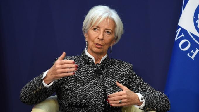 IMF總裁Christine Lagarde。(圖:AFP)