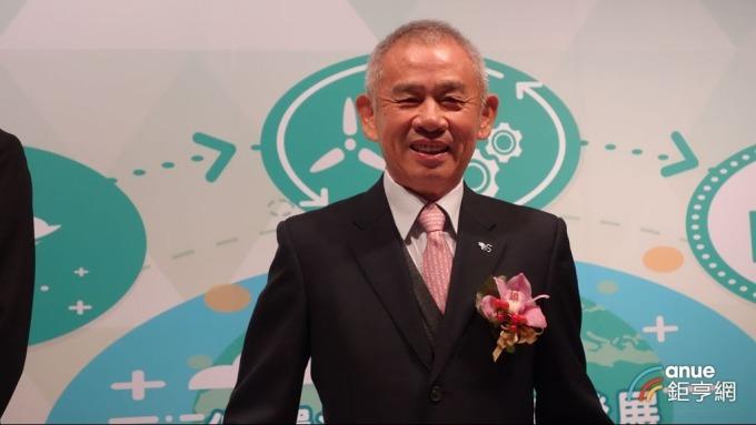綠電再生董事長洪敏晶。(鉅亨網記者張欽發攝)