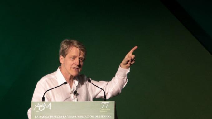 諾貝爾經濟學獎得主、耶魯大學教授席勒(Robert Shiller)。(圖:AFP)