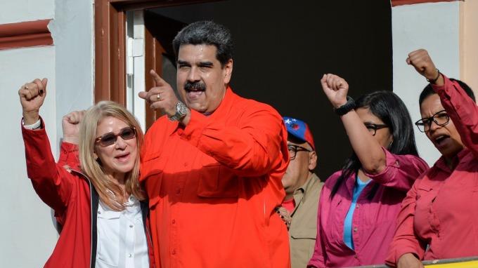 委內瑞拉總統馬杜洛 (Nicolas Maduro)  (圖:AFP)