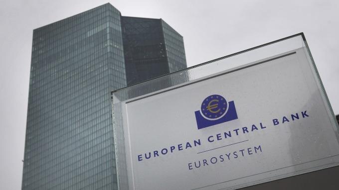 歐洲央行維持三大利率不變。(圖:AFP)