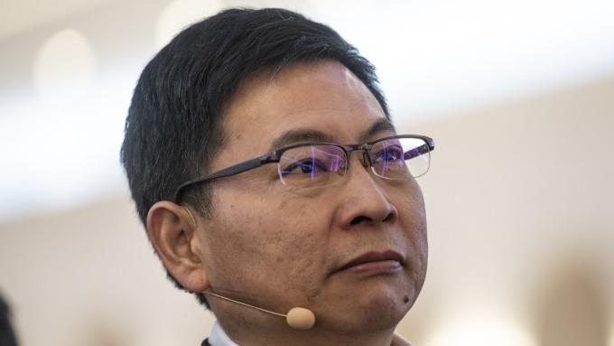 圖:AFP  華為消費者業務執行長余承東