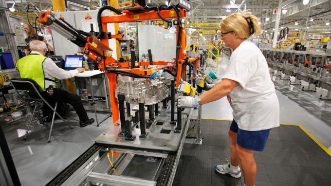 貿易戰已適得其反?川普關稅讓福特員工分紅少了750美元      (圖:AFP)