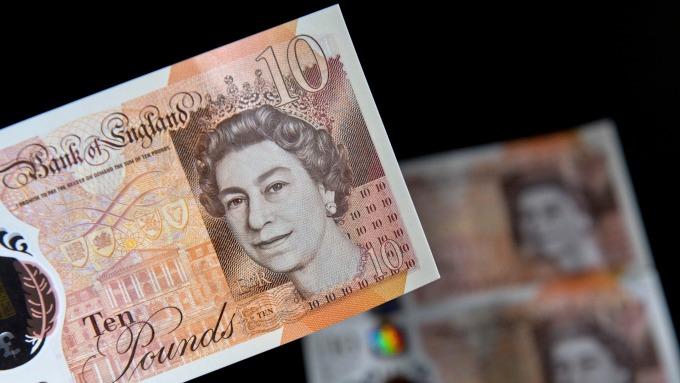 英鎊兌歐元估創2017以來最大單週漲幅。(圖:AFP)