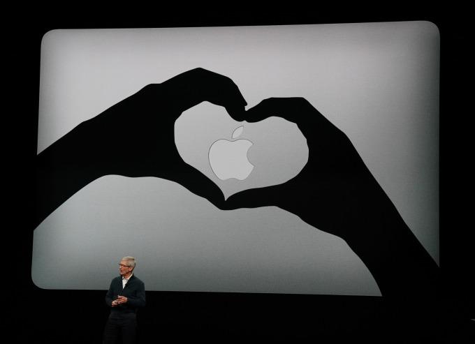 大摩稱現在是買蘋果的好時機。(圖:AFP)