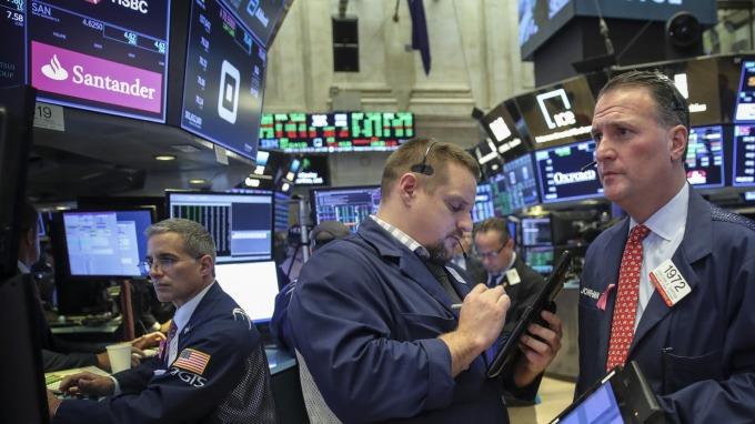 圖:AFP  美國政府關門太久 股市將受到壓力