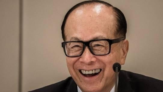 (圖二:香港長和集團創辦人李嘉誠先生,AFP)
