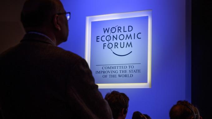 達沃斯世界經濟論壇(圖:AFP)