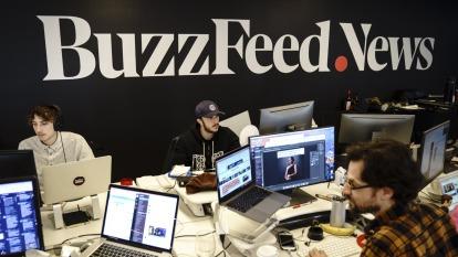 BuzzFeed及HuffPost均傳裁員。(圖:AFP/Getty Image)
