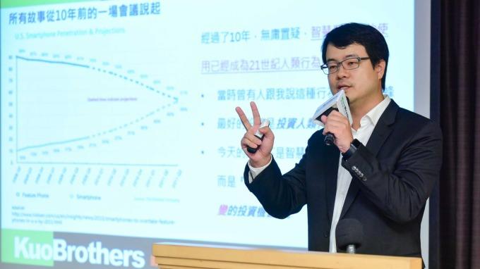 創業家董事長郭書齊。(圖:創業家提供)