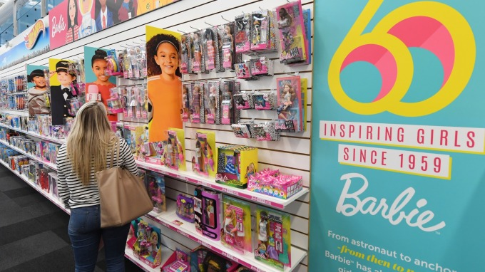 玩具反斗城倒閉 讓2018年美國玩具銷售額衰退2%      (圖:AFP)