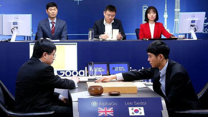 AlphaGo展現了AI的強大(圖:AFP)