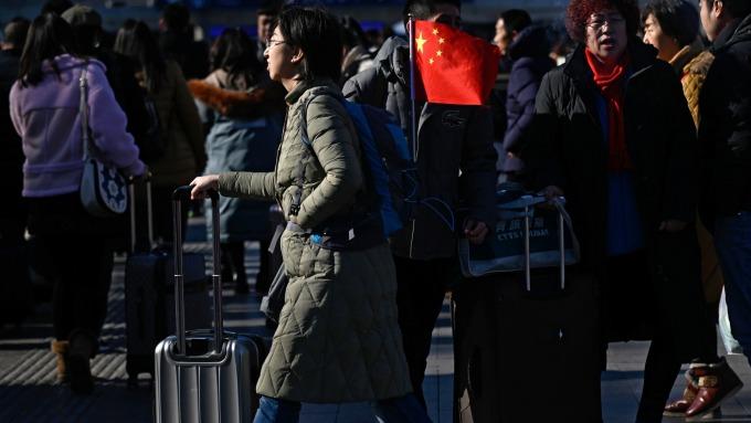 中國經濟成長出現趨緩跡象。(圖:AFP)