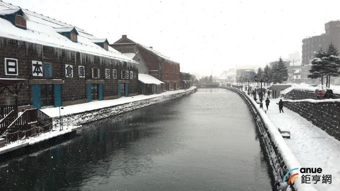 日本北海道冬季雪景吸引不少遊客造訪。(鉅亨網記者王莞甯攝)