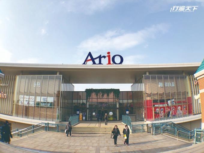 從倉敷車站北口就可直通購物中心入口!