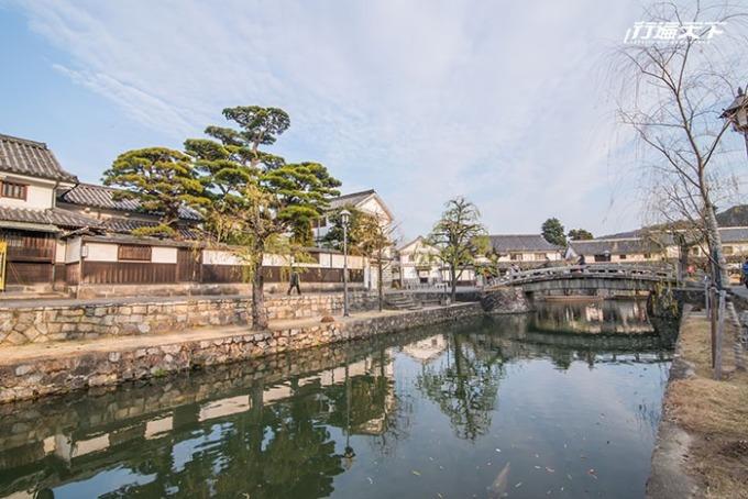 從倉敷美觀地區延伸出發的小旅行,就此展開。