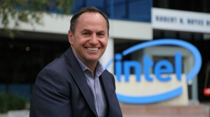 英特爾原財務總裁斯旺 (Robert Swan) 接任英特爾 CEO。 (圖片來源:翻攝 Intel 官網)