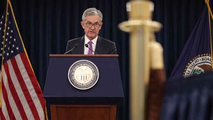 聯準會主席鮑爾。(圖:AFP)