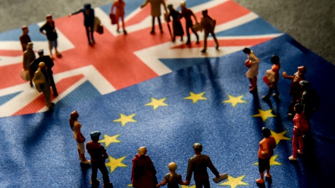 英國與瑞士簽署脫歐後的貿易協議(圖:AFP)