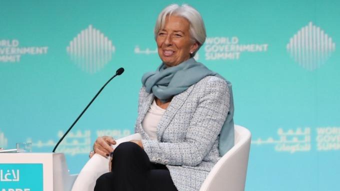 IMF總裁拉加德(圖:AFP)